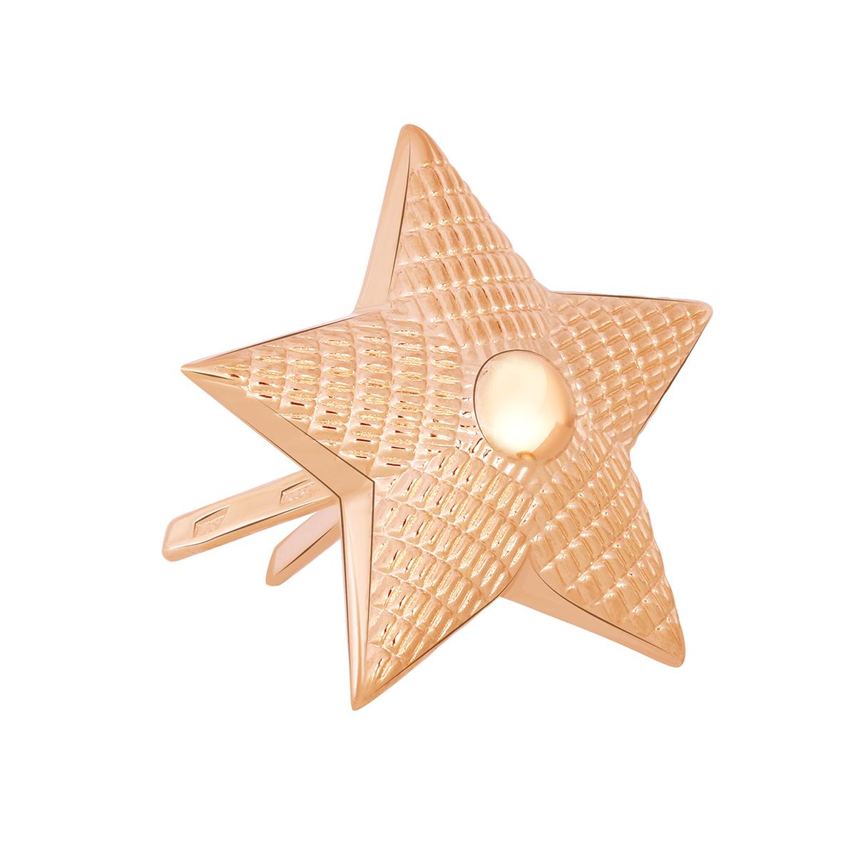 Значок из красного золота 03-2680 zouz фото